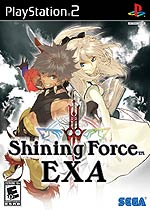 Shining Force EXA box art