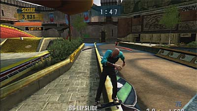 Tony Hawk's Project 8 screenshot