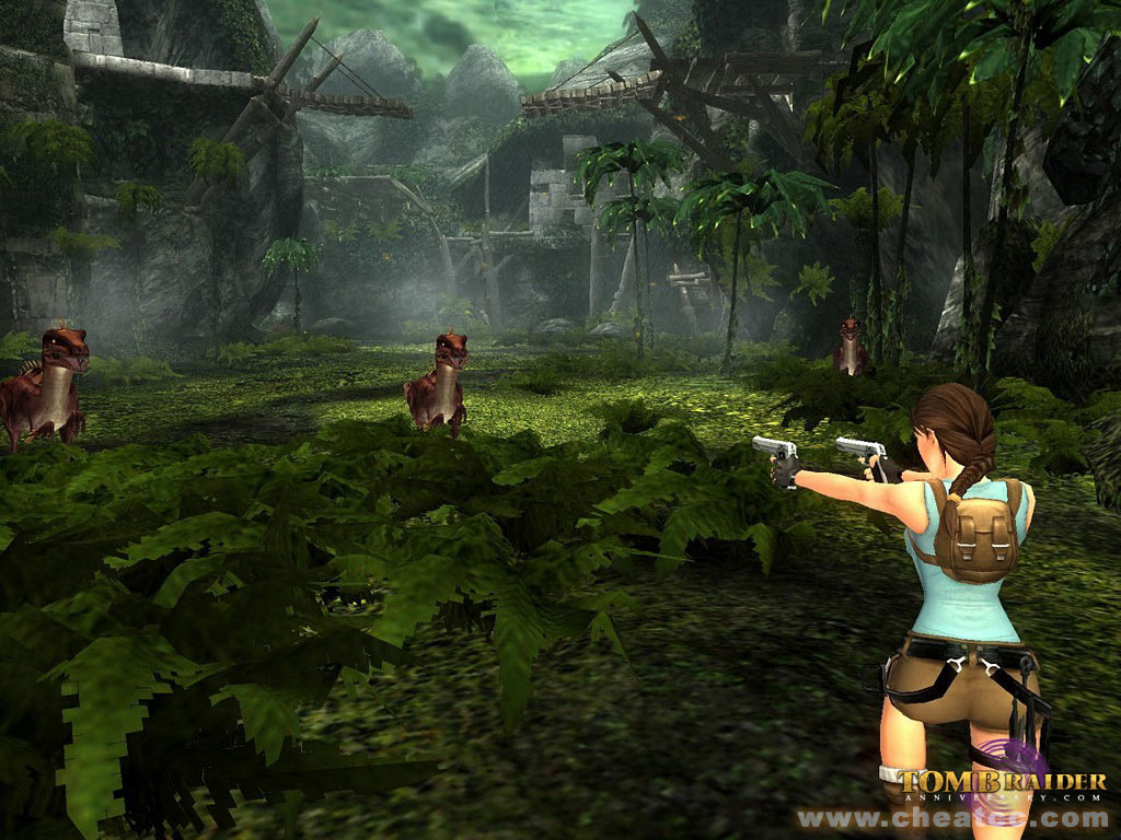 Tomb Raider Anniversary Preview For Playstation 2 Ps2