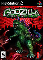 Godzilla Unleashed box art