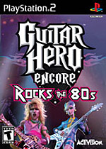 Guitar Hero Encore: Rocks the 80s box art