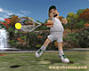 Hot Shots Tennis screenshot - click to enlarge