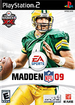 Madden NFL 09 box art