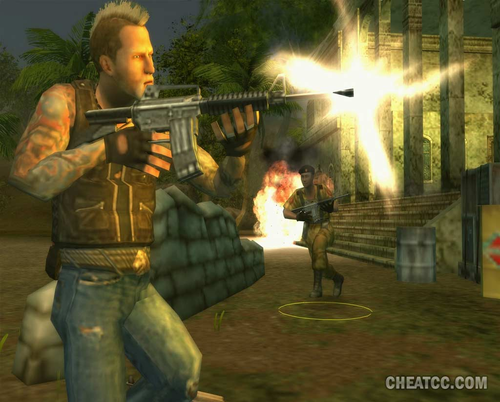 Mercenaries 2 world in flames review for playstation 2 ps2 mercenaries 2 world in flames screenshot click to enlarge altavistaventures