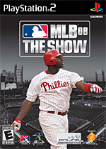 MLB 08: The Show box art