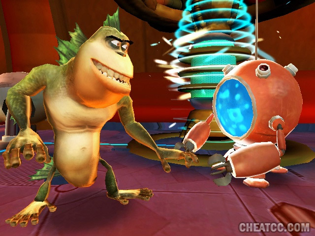 monsters vs aliens review for playstation 2 ps2