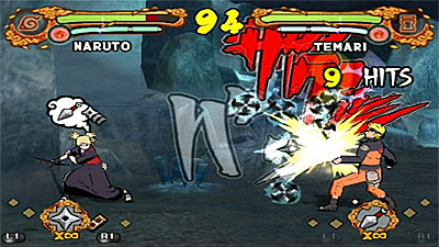Ultimate Ninja 4: Naruto Shippuden screenshot