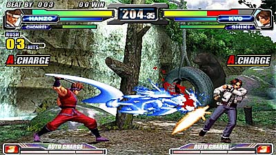 NeoGeo Battle Coliseum screenshot