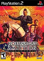 Nobunaga's Ambition: Rise to Power box art