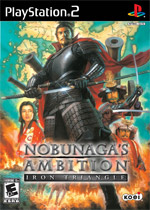 Nobunaga's Ambition: Iron Triangle box art