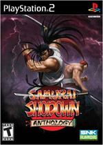 Samurai Shodown Anthology box art