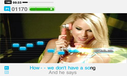 SingStar Country screenshot