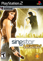 SingStar Legends box art