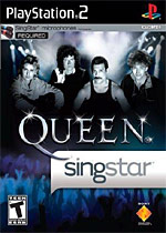 Singstar Queen box art