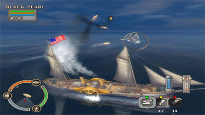 Swashbucklers: Blue vs. Grey screenshot
