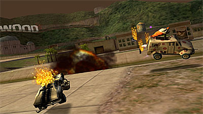 Twisted Metal Head-On: Extra Twisted Edition screenshot