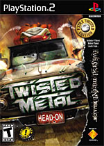 Twisted Metal Head-On: Extra Twisted Edition box art