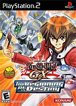 Yu-Gi-Oh! GX The Beginning of Destiny box art