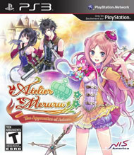 Atelier Meruru: The Apprentice of Arland Box Art