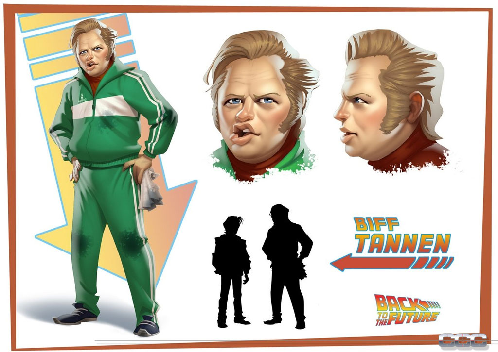 Back to the Future: The Game - Episode 2: Get Tannen! Screenshot