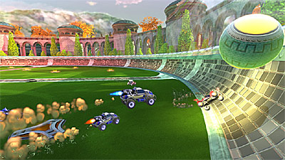 Supersonic Acrobatic Rocket-Powered Battle-Cars screenshot
