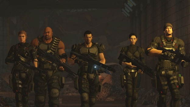Binary Domain Screenshot