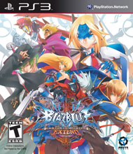 BlazBlue: Continuum Shift Extend Box Art