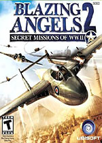 Blazing Angels 2: Secret Missions of WWII box art