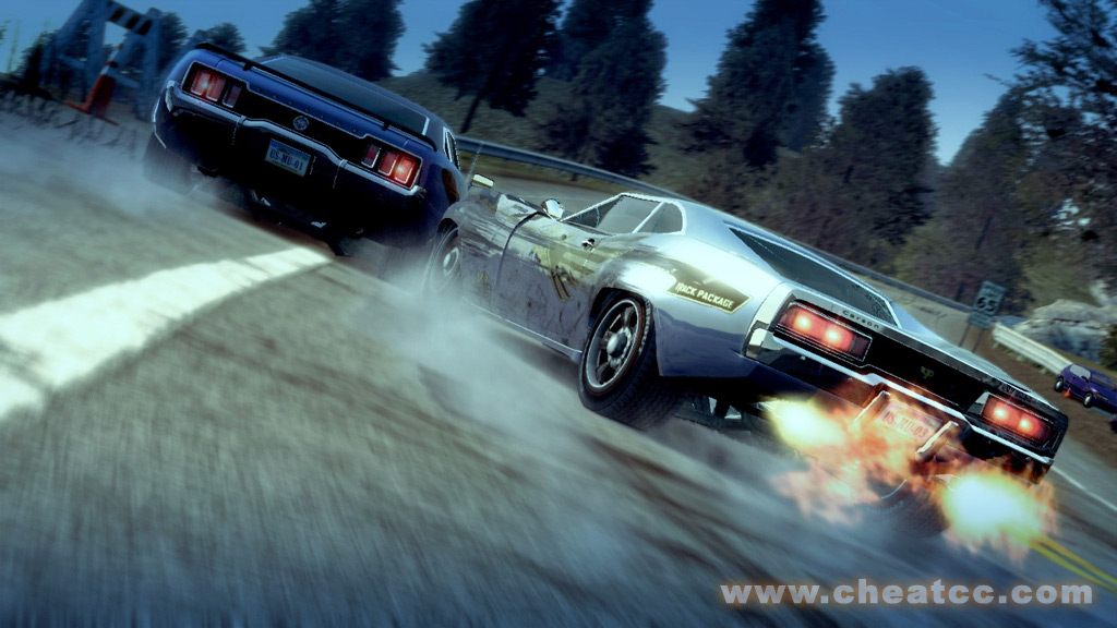 Burnout  All Cars Cheat Ps