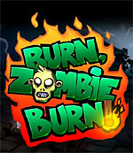 Burn, Zombie, Burn! box art