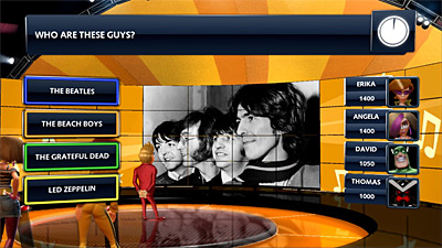 Buzz! Quiz TV screenshot