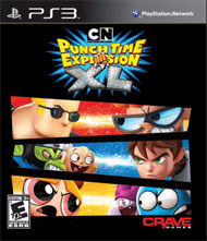 Cartoon Network: Punch Time Explosion XL Box Art