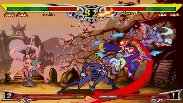 Darkstalkers: Resurrection Screenshot