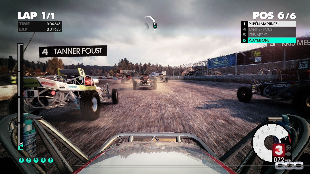 dirt 3 review for playstation 3 ps3 cheat code central. Black Bedroom Furniture Sets. Home Design Ideas