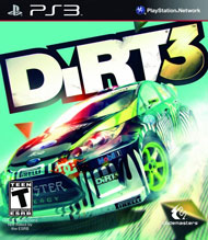 DiRT 3 Box Art