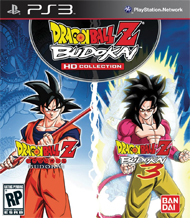 Dragon Ball Z Budokai HD Collection Box Art