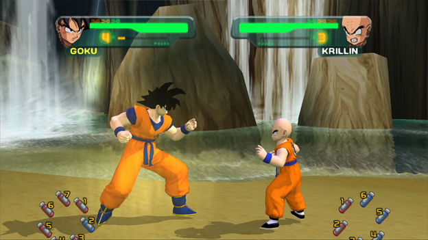 Dragon Ball Z Budokai HD Collection Screenshot