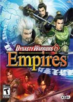 Dynasty Warriors 6: Empires box art