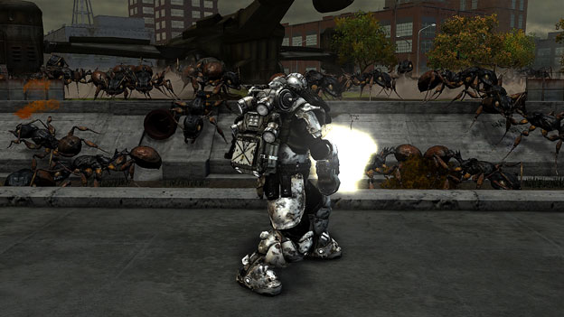 Earth Defense Force Insect Armageddon Screenshot