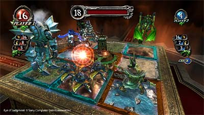 The Eye of Judgment screenshot