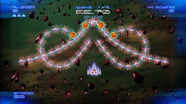 Galaga Legions DX Screenshot