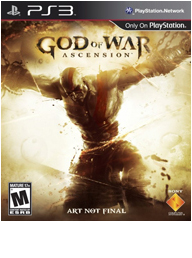 God of War: Ascension Box Art