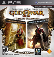 God of War: Origins Collection Box Art