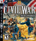 History Channel Civil War: Secret Missions box art