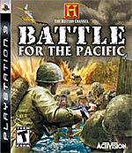 History Channel: Battle for the Pacific box art