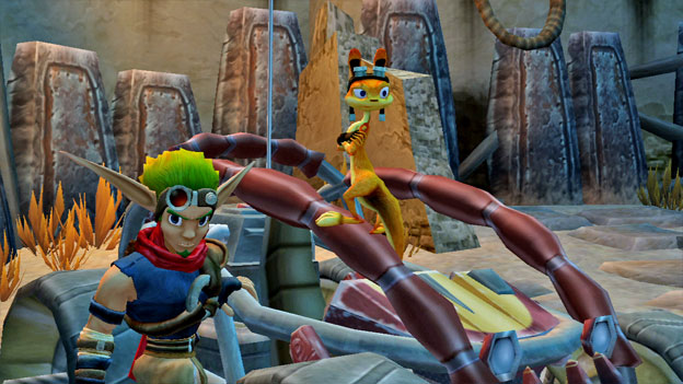 Jak and Daxter Collection Screenshot