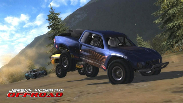 Jeremy McGrath's Offroad Screenshot