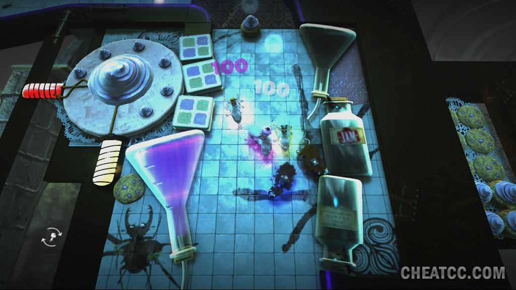 little big planet 3 how to open organizertron