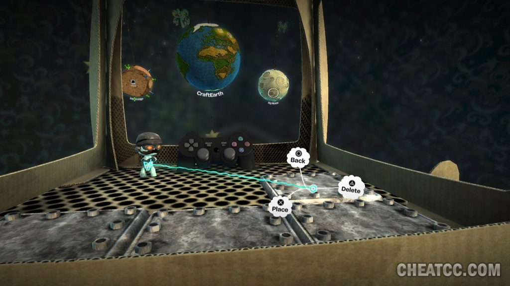 how to change characters in little big planet 3