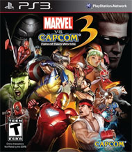 Marvel vs. Capcom 3: Fate of Two Worlds Box Art